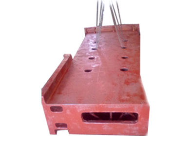 CASTING WEIGHT 8.5 TON SIZE : 3600  X  2600 X  600